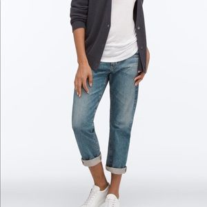 ADRIANO GOLDSCHMIED tomboy straight cropped Jean